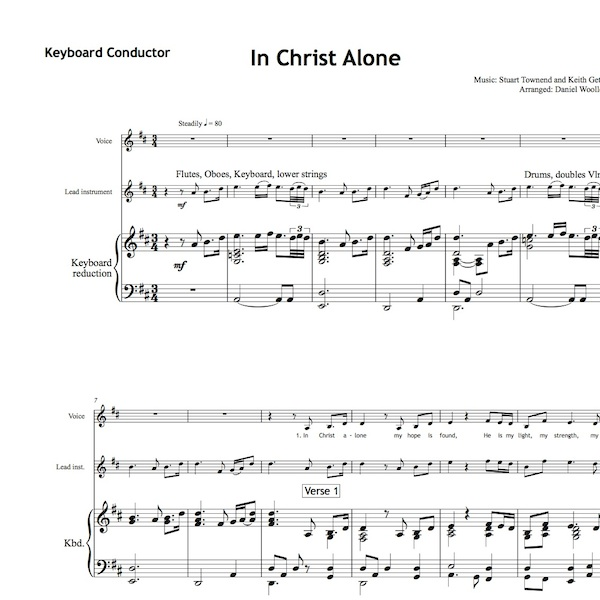 In Christ Alone Worship Set All Souls Music