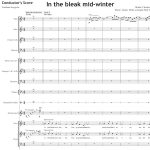 In the bleak mid-winter - Orchestral Set