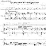 Score of the Week – It came upon a midnight clear