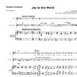 Score of the Week – Joy to the world