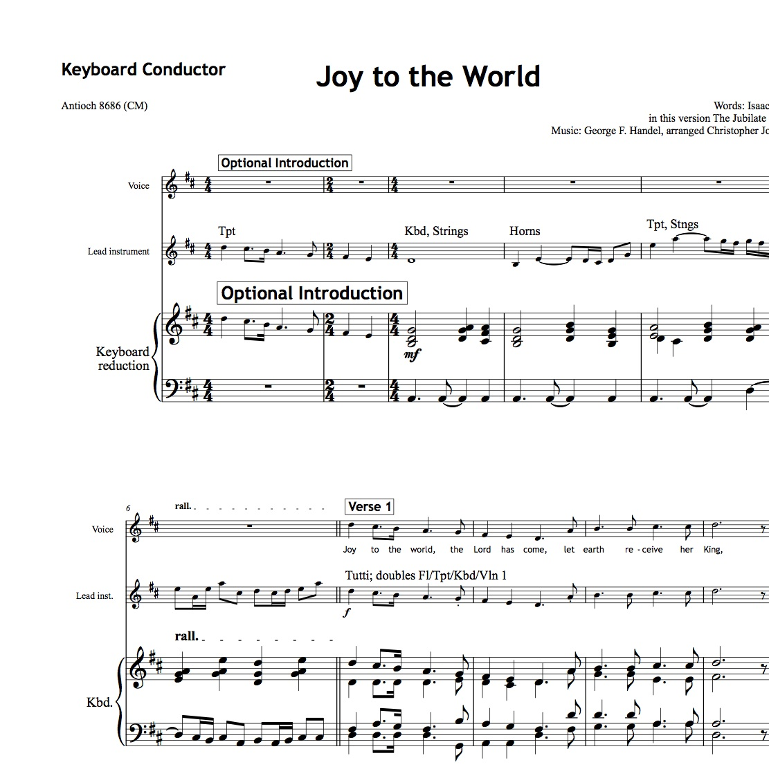 Joy to the world - Worship Set - All Souls Music