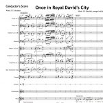 Once in Royal David's City - Orchestral Set