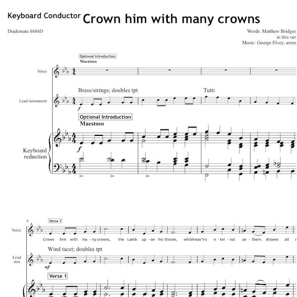 Crown him with many crowns - Worship Set - All Souls Music
