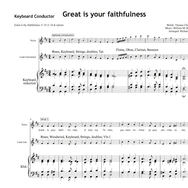 Great Is Your Faithfulness Worship Set All Souls Music