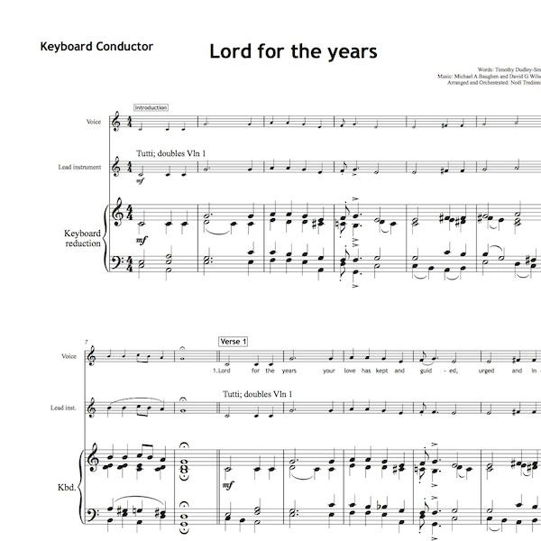 Lord For The Years Worship Set All Souls Music
