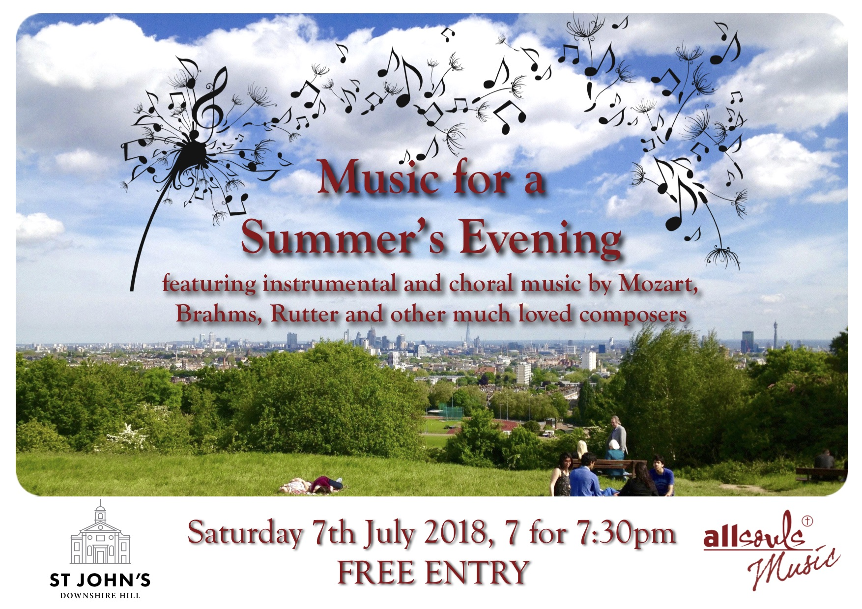 Music for a Summer's Evening with All Souls Choir