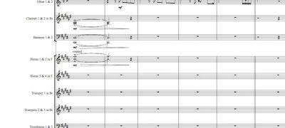 When love came down - Conductor's Score