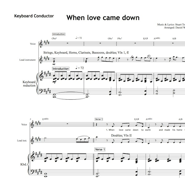 When love came down - Worship Set - All Souls Music