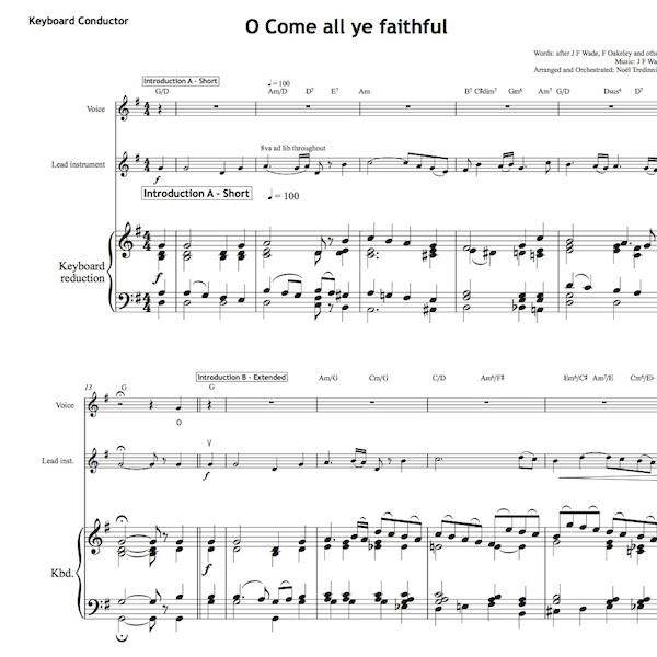 O Come all ye faithful - Worship Set - All Souls Music
