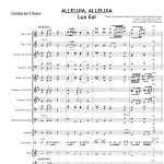 Score of the Week – Alleluia Alleluia Hearts to Heaven