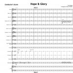 Hope and Glory - Orchestral Set
