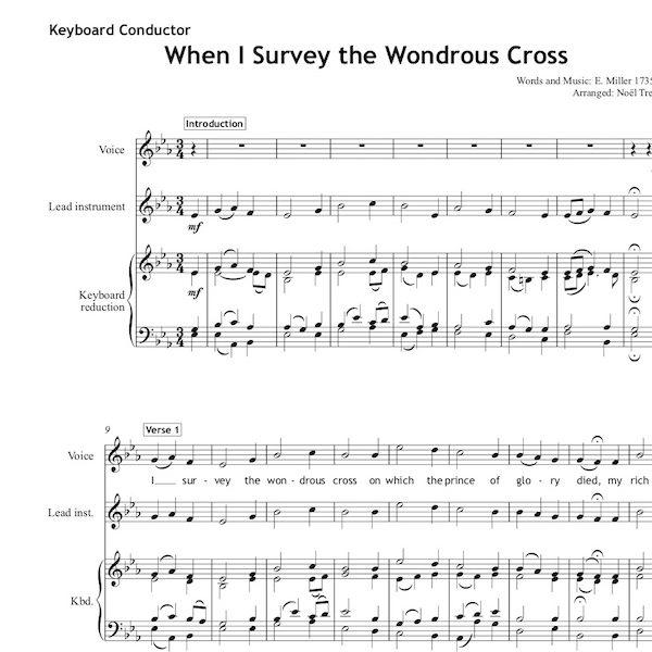 When I Survey the wondrous cross - Worship Set