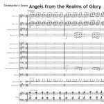 Score of the Week – Angels from the realms of glory